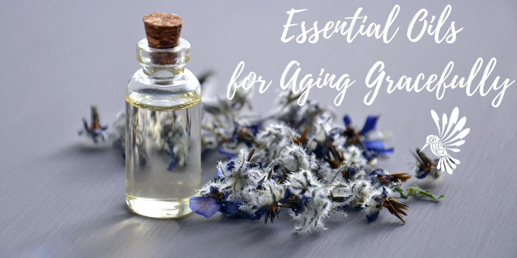 Essential oils for aging gracefully