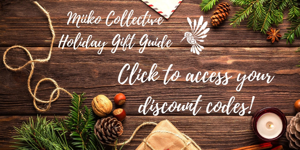 Discount codes for miiko holiday gift guides
