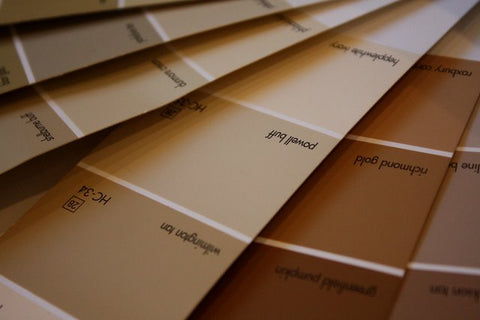 brown paint swatch