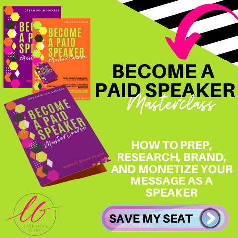 How To Become A Paid Speaker - DreamBuildSuccess