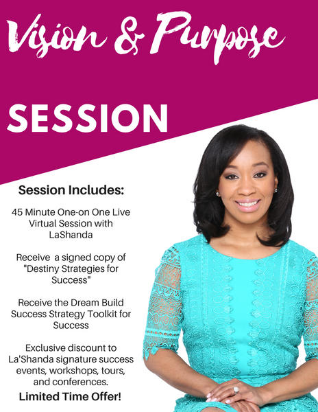 Vision & Purpose Session - DreamBuildSuccess