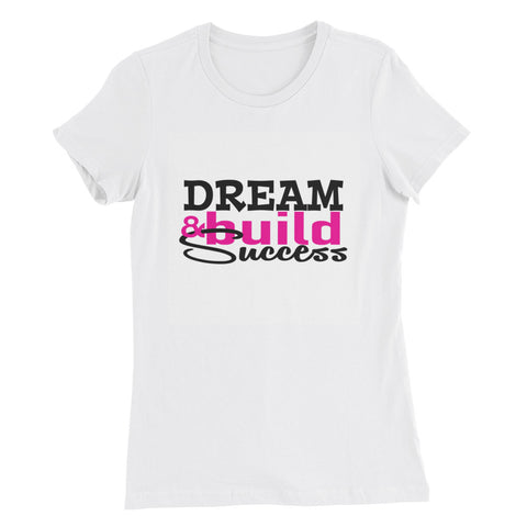 Dream Build Success Slim Fit T-Shirt - DreamBuildSuccess