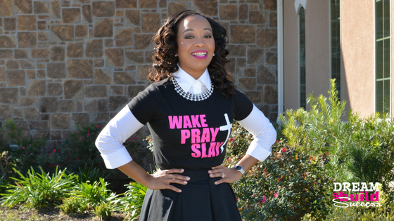 WAKE, PRAY, SLAY Tee - DreamBuildSuccess