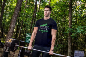 Limited Edition-TRAIN LIKE A VEGAN - unisex Short sleeve t-shirt