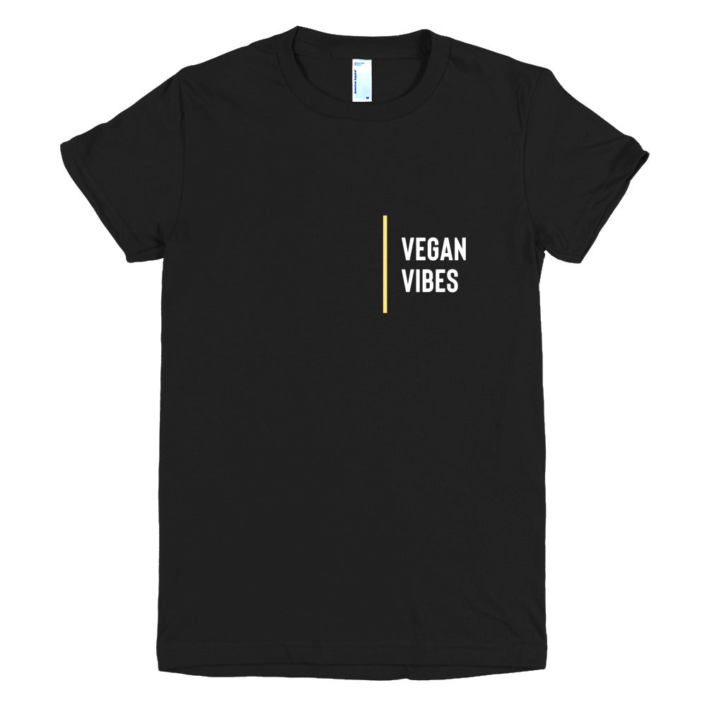 Limited Edition Vegan Vibes Short sleeve women's t-shirt