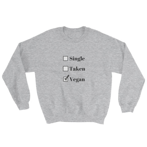 Relationship Status Grey Sweatshirt