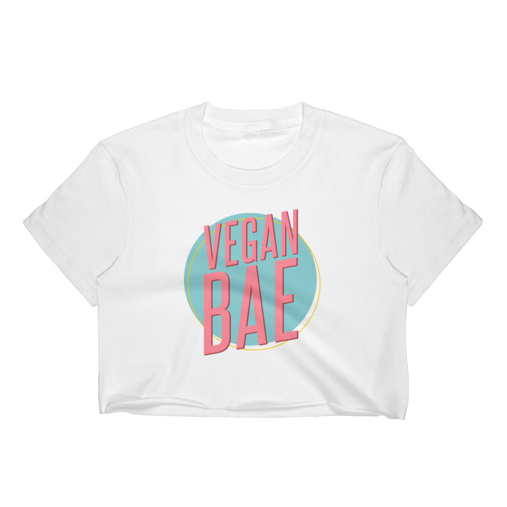 Limited Edition-Vegan Bae Women's Crop Top