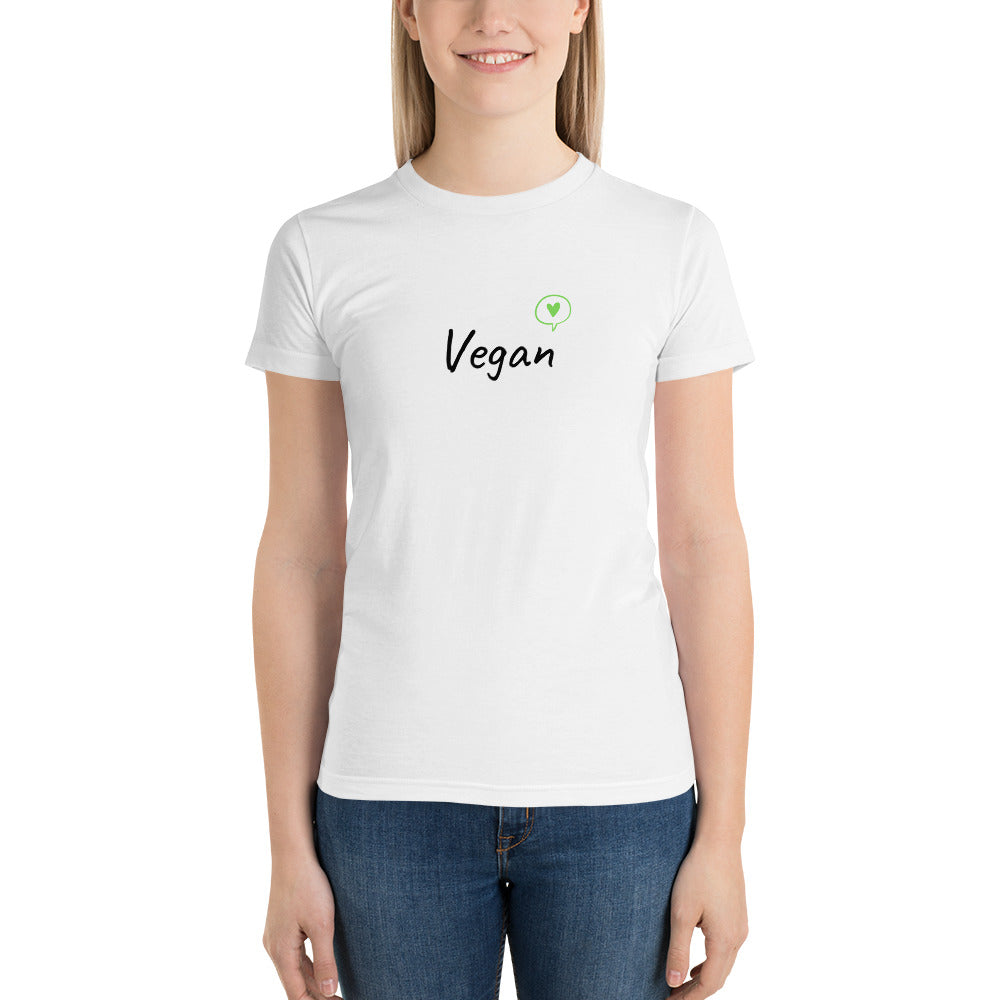 Limited Edition Vegan Heart Short sleeve women's t-shirt