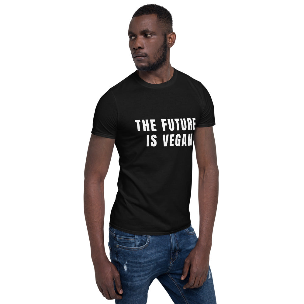 Limited Edition THE FUTURE IS VEGAN Short-Sleeve Unisex T-Shirt