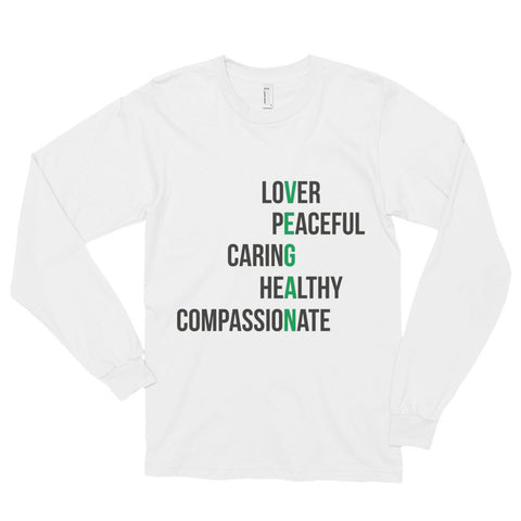 The Definition of a Vegan - Long sleeve