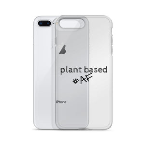 Plant Based AF iPhone Case