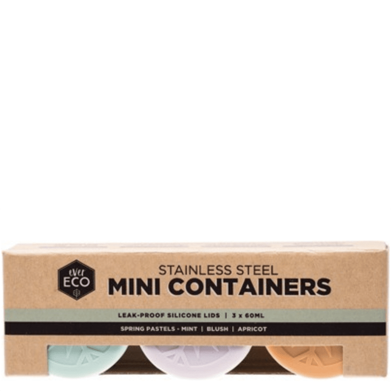 Ever Eco Nesting Containers Stainless Steel Mini The Kind Store