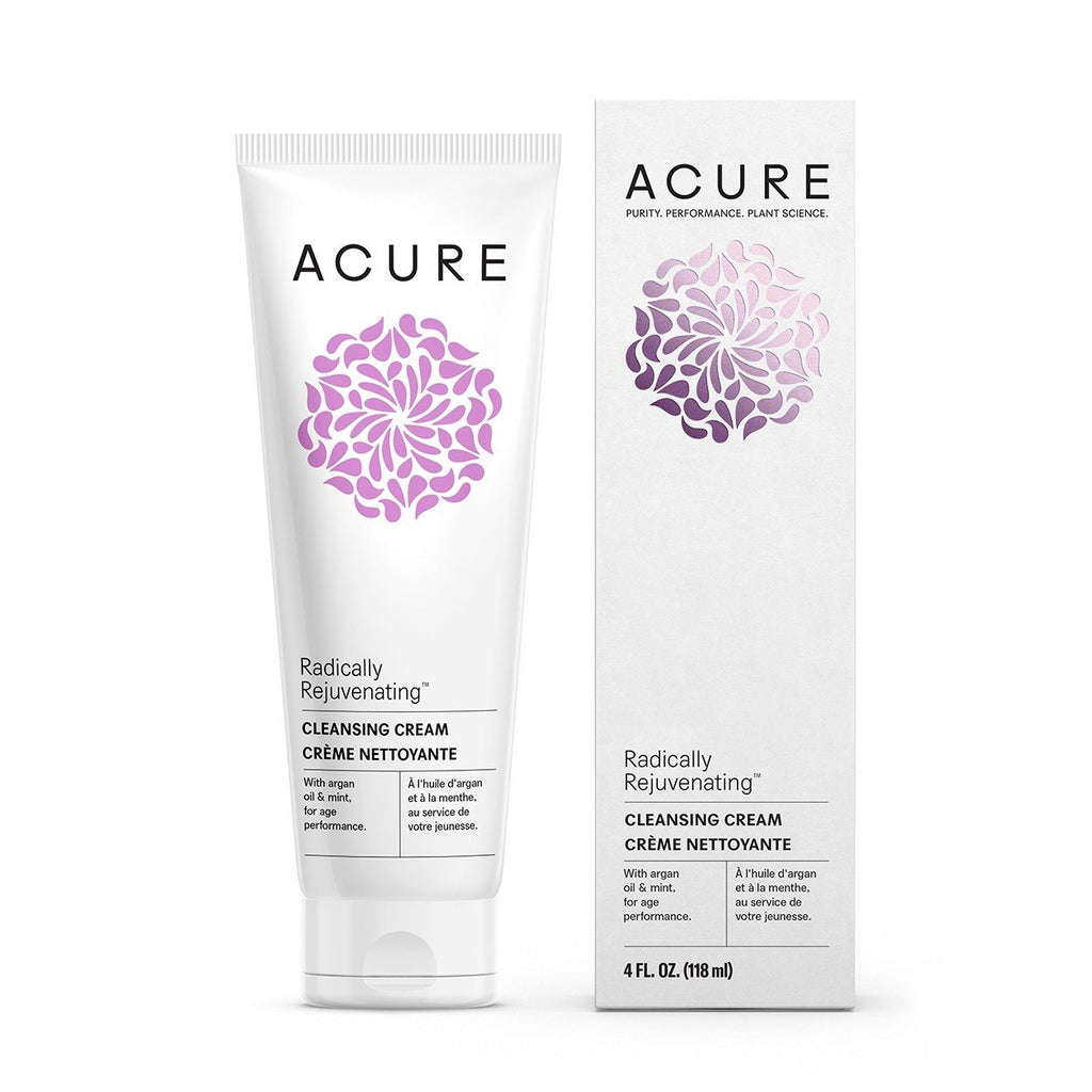 Acure Radically Rejuvenating Cleansing Cream - Normal to Dry Skin