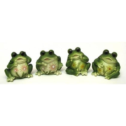 Frogs Set of 4