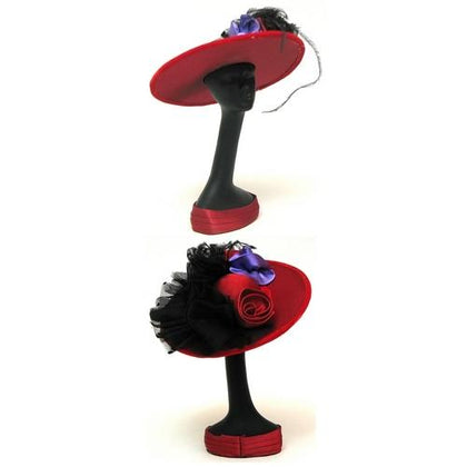 Red Hat Mannequin withHat black bow