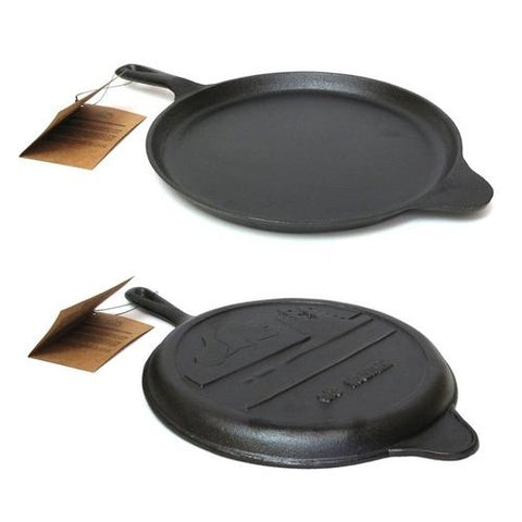 Old Mountain Cast Iron Preseasoned Round Griddle 10.5''