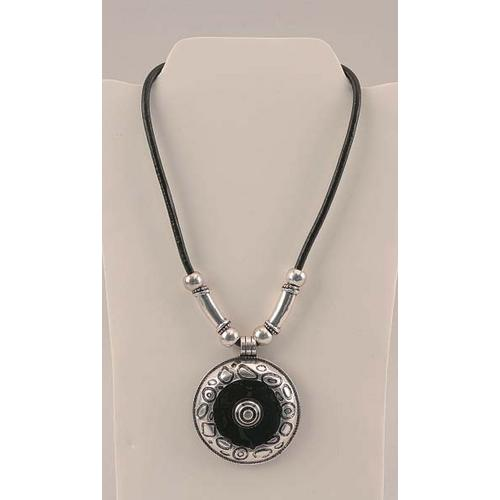 Silver Tone Pendant Necklace