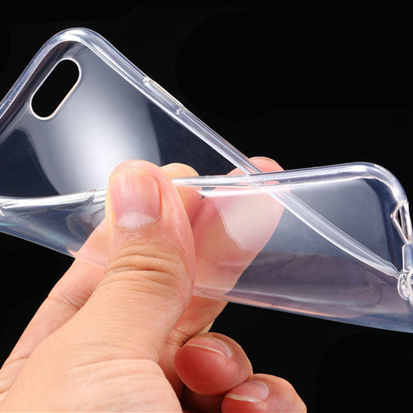 Slim and Super Flexible Clear TPU, Silicone, Rubber, Gel Case For iPhone 6/6s