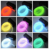 Battery-Powered Flexible Neon Light Rope