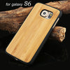 Robotsky Wood-Inspired Phone Case for Samsung