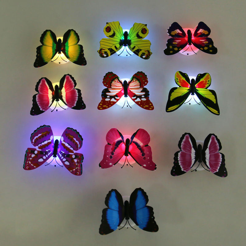 LED Butterfly Night Lamp