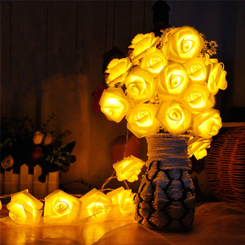 20 LED Rose Flower Light