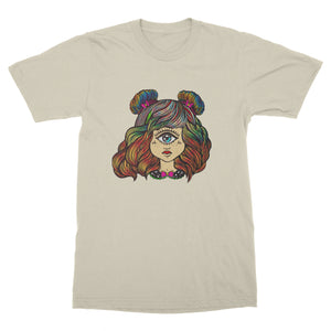 Short Sleeve T-Shirt - Cyclops Girl full color