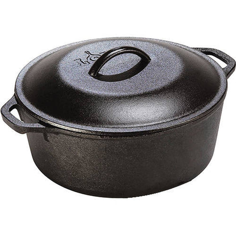 Lodge Cast Iron Dutch Ovens, 5 and 7-Quart