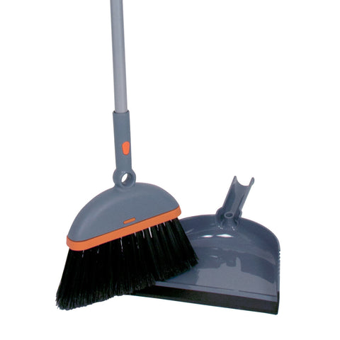 Cassabella Ergo Broom & Dust Pan Set