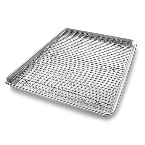 USA Jelly Roll Pan and Cooling Rack Set