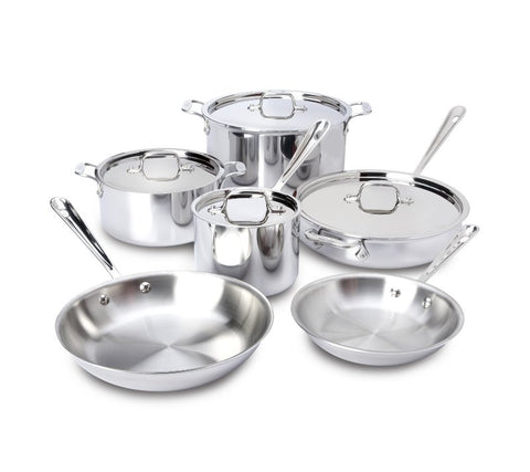 All-Clad 10-Piece Set - Gift with Purchase receive a free All-Clad Lasagna Pan - a $100.00 value