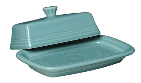 Pryde's Turquoise Fiesta Butter Dish