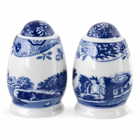 Spode Blue Italian Salt & Pepper Set