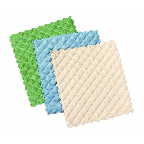 Quilted Dishcloths, Set of 3