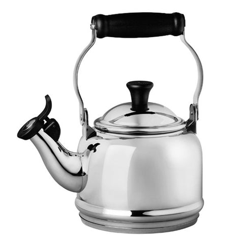 Le Creuset Stainless Steel Demi 1-1/4-Quart Tea Kettle