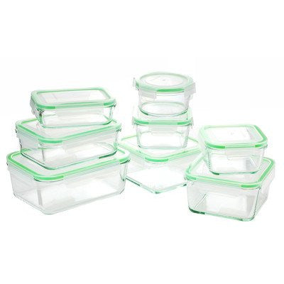 Kinetic Glass Storage Container System