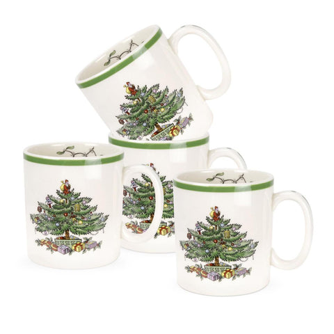 Spode Christmas Tree Mugs