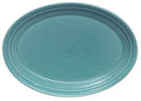 Pryde's Fiesta Turquoise Large Oval Platter