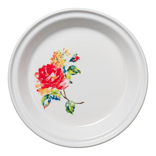 Fiesta Floral Bouquet Deep Dish Pie Pan