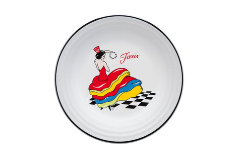 Fiesta Dancing Lady Luncheon Plate