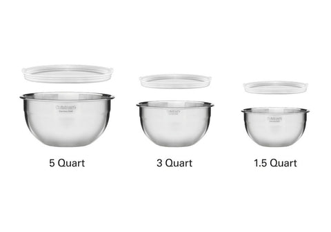 Cuisinart 3 Mixing Bowl Set with Lids
