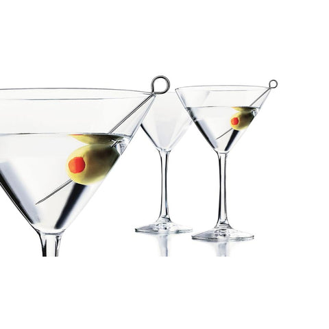 Libbey Martini Glasses Set of 6