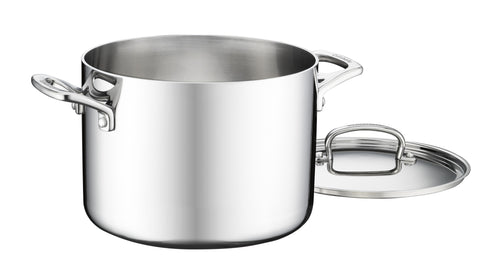 Cuisinart French Classic Tri-Ply Stainless Stock Pot with Cover