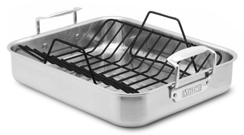 "Viking 13"" Roasting Pan Without Rack"