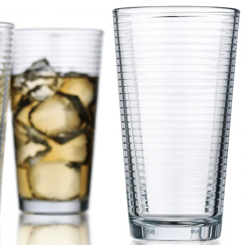 Home Essentials, Ribbed Glass - 17 oz