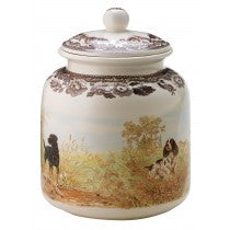 Spode Woodland All Dogs Dog Treat Canister