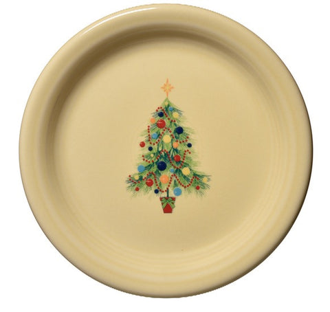 Fiesta Christmas Tree Appetizer Plate  sc 1 st  Pryde\u0027s Kitchen \u0026 Necessities & Fiesta Christmas Cake Plate With Server \u2013 Pryde\u0027s Kitchen \u0026 Necessities