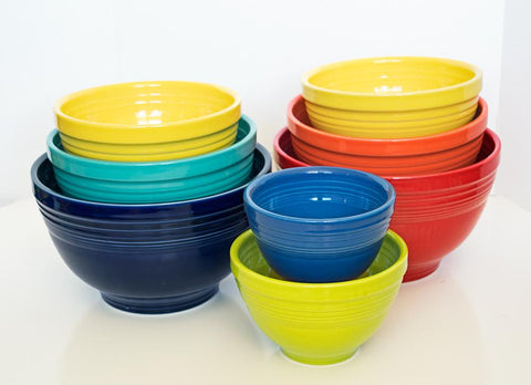 Fiesta 3 pc Baking Bowl Set - Cool Colors