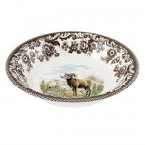Spode Woodland Bighorn Sheep Ascot Cereal Bowl, 8""