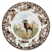 Spode Woodland Bighorn Sheep Dinner Plate, 10.5""